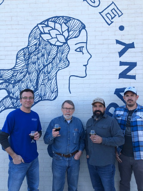 picture of Andrew, Richard and ODD Muse Brewing